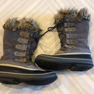 Sorel Suede, Rubber & Faux Fur Winter Boots
